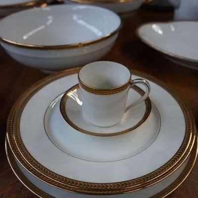 Haviland (1832-1896) сервиз на 12 персон-чайный и столовый. в стиле Классицизм (классика) Франция, середина 19 века