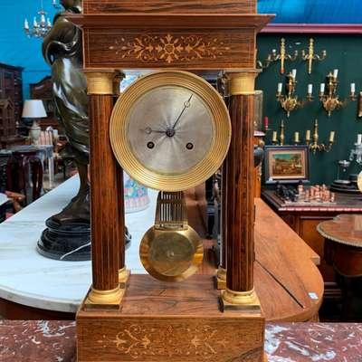 Часы периода Ампир. в стиле Ампир, Франция, начало 19 века