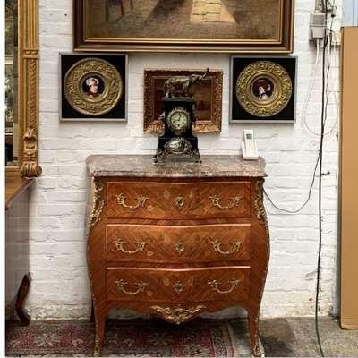 Французский комод. в стиле Рококо Людовик XV, Франция, конец 19 века