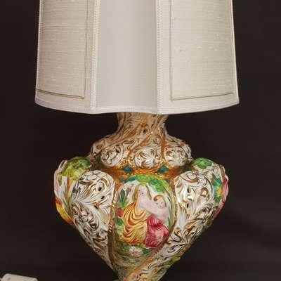настольная лапма Италия в стиле Барокко Италия, середина 20 века