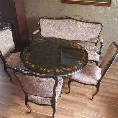 Комплект столовый в стиле Классицизм (классика) под заказ, Бельгия, конец 20 века