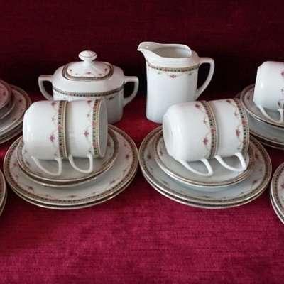 Сервиз чайный или кофейный. в стиле Классицизм (классика), Чехословакия, середина 20 века