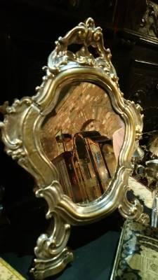 Зеркало антик в стиле Барокко в наличии, Англия, середина 19 века