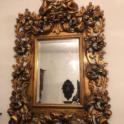 Зеркало в стиле Барокко под заказ, Бельгия, начало 20 века