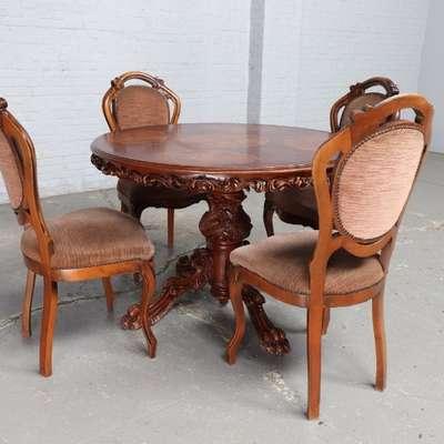 Столовый комплект в стиле Неорококо, Голландия, середина 20 века
