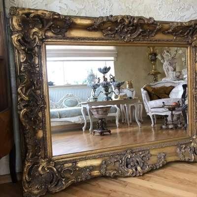 Зеркало в стиле Барокко под заказ, Бельгия, конец 20 века