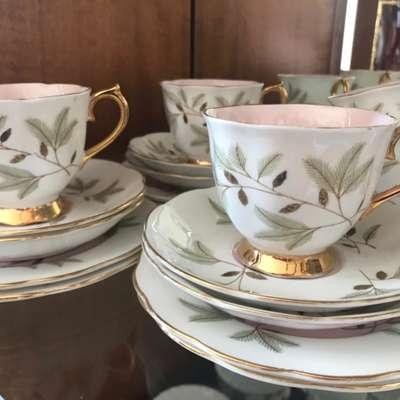 Чайные пары в стиле Винтаж под заказ, Бельгия, конец 20 века