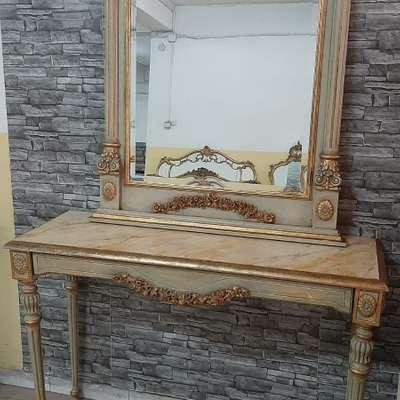 Консоль с зеркалом в стиле Эклектика, Италия, середина 20 века