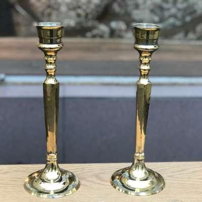 Подсвечники латунные в стиле Винтаж Бельгия, середина 20 века