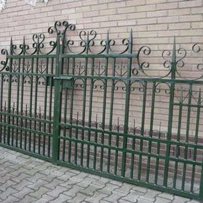Ворота ковка в стиле Винтаж под заказ, Голландия, начало 21 века