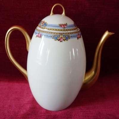 Кофейный чайник или чайник для горячего шоколада Limoges. в стиле Людовик XVI под заказ, Франция, конец 19 века