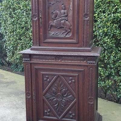 Шкафчик кабинетный в стиле Наполеон III, Франция, конец 19 века
