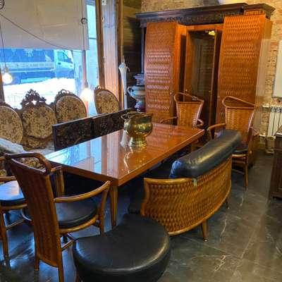 Набор мебели для столовой в стиле Ар-нуво, Голландия, начало 20 века