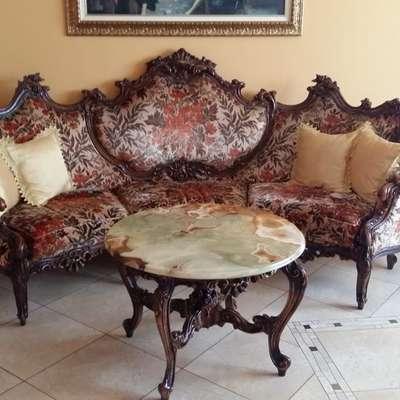 Комплект мягкой мебели в стиле Барокко Бельгия, середина 20 века