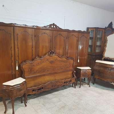 Спальня в стиле Барокко под заказ, Италия, середина 20 века