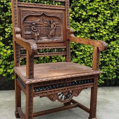 Кресло в стиле Бретонский Франция, начало 20 века