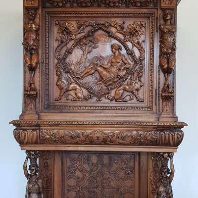 Креденс в стиле Необарокко, Италия, конец 19 века