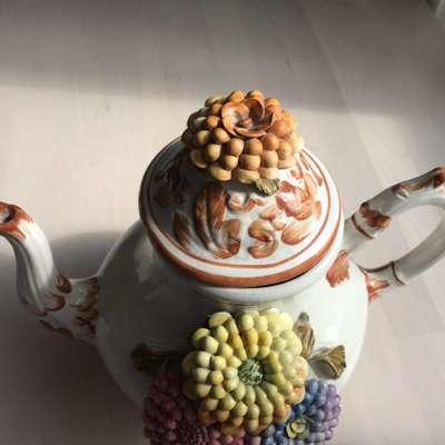 Чайник фарфор в стиле Барокко Италия, середина 20 века