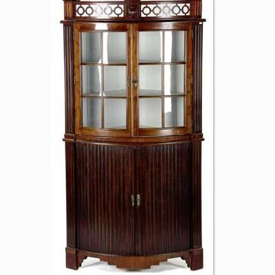 Угловая витрина. в стиле Викторианский, Англия, начало 19 века