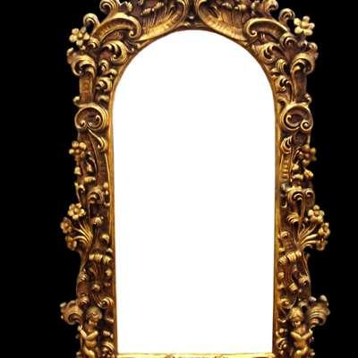Винтажное зеркало в стиле Барокко под заказ, Голландия, начало 21 века