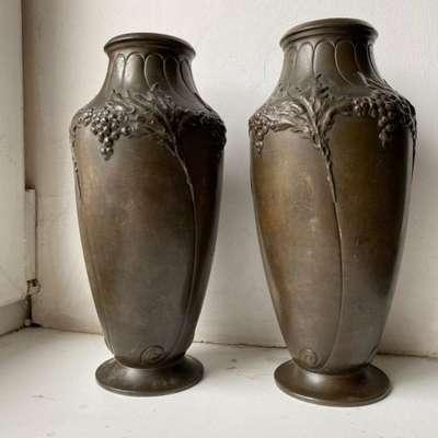 Пара ваз в стиле Эклектика, Франция, начало 20 века