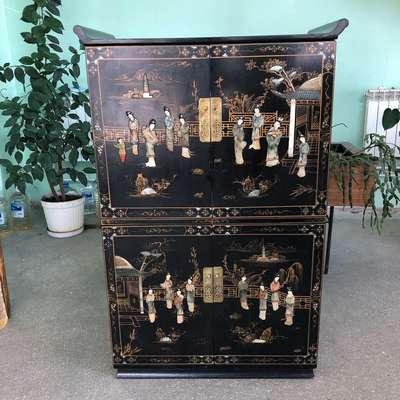 Шкаф в стиле Шинуазри, Бельгия, середина 20 века