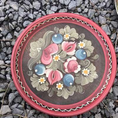 Тарелка в стиле Винтаж, Франция, середина 20 века