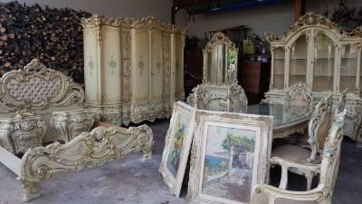 Спальня в стиле Барокко в наличии, Италия, конец 20 века