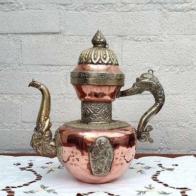 Чайник медный в стиле Восточный, Бельгия, конец 19 века