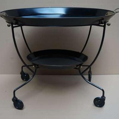 Сервировочный столик со съемными подносами. в стиле Винтаж Бельгия, середина 20 века