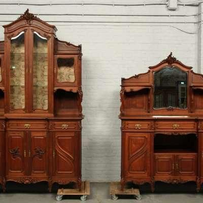 Пара буфетов в стиле Луи Филипп Франция, конец 19 века