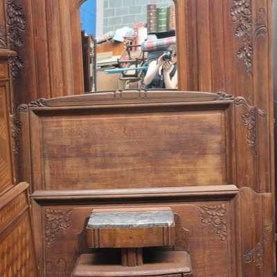 Дубовая спальня периода Арт-Деко. в стиле Ар-деко Франция, начало 20 века