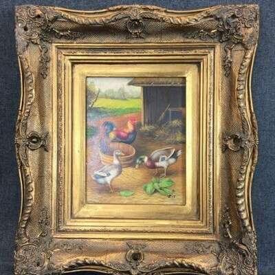 Картина в стиле Импрессионизм Бельгия, начало 20 века