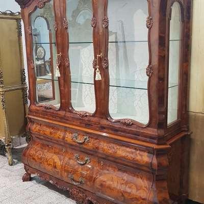 Итальянская витрина в стиле Барокко Италия, конец 20 века