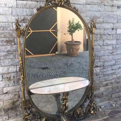 Консоль с зеркалом в стиле Барокко Италия, середина 20 века