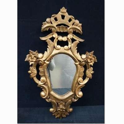 Антикварное зеркало. в стиле Рококо Людовик XV, Франция, конец 18 века