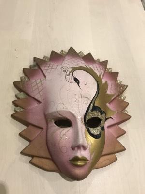 Маскарадная маска в стиле Винтаж в наличии, Бельгия, конец 20 века