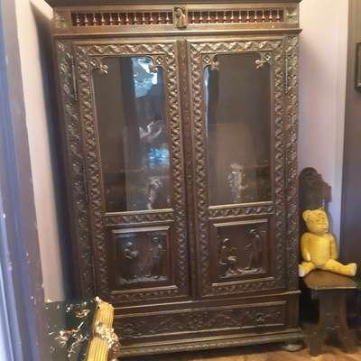 Шкаф в стиле Бретонь в стиле Бретонский Франция, конец 19 века