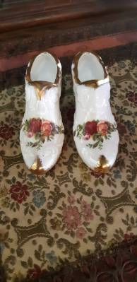 Пара туфелек в стиле Эклектика в наличии, Англия, конец 20 века
