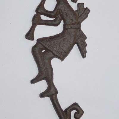 Набор настенных крючков(4) чугун в стиле Винтаж под заказ, Голландия, начало 21 века