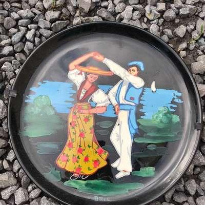"""Тарелки """"Танец"""" в стиле Винтаж Франция, середина 20 века"""