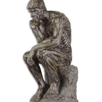 Скульптура Мыслителя в стиле Винтаж Бельгия, начало 21 века
