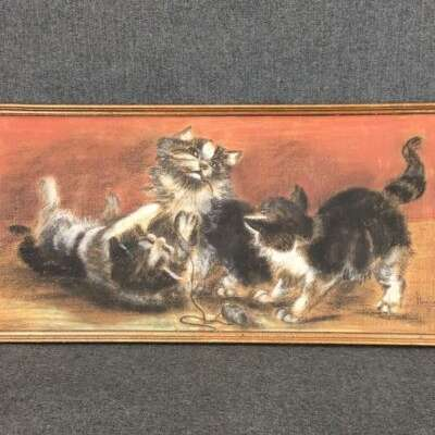 Картина в стиле Классицизм (классика) Бельгия, середина 20 века