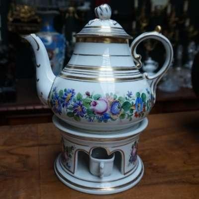 KPM - Чайник с подогревом. в стиле Классицизм (классика), Германия, конец 19 века