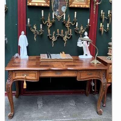 Письменный стол антикварный. в стиле Рококо Людовик XV, Франция, конец 19 века
