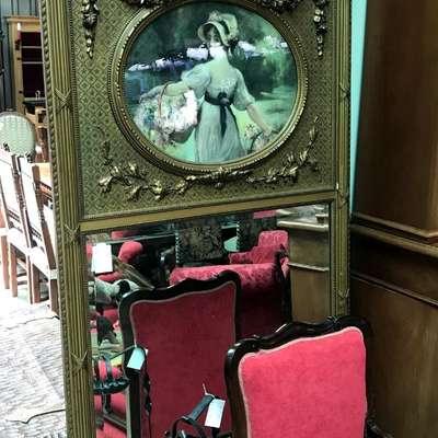Зеркало в стиле Винтаж Бельгия, середина 20 века