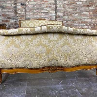 Кровать в стиле Рококо Людовик XV, Франция, середина 20 века