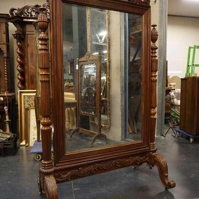 Зеркало в стиле Неоклассицизм (неоклассика) под заказ, Бельгия, начало 20 века