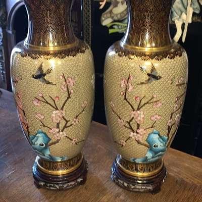 Пара ваз в стиле Прованс Бельгия, середина 20 века