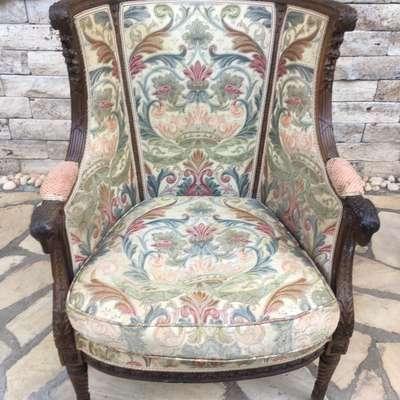 Кресло в стиле Неоренессанс Италия, начало 20 века